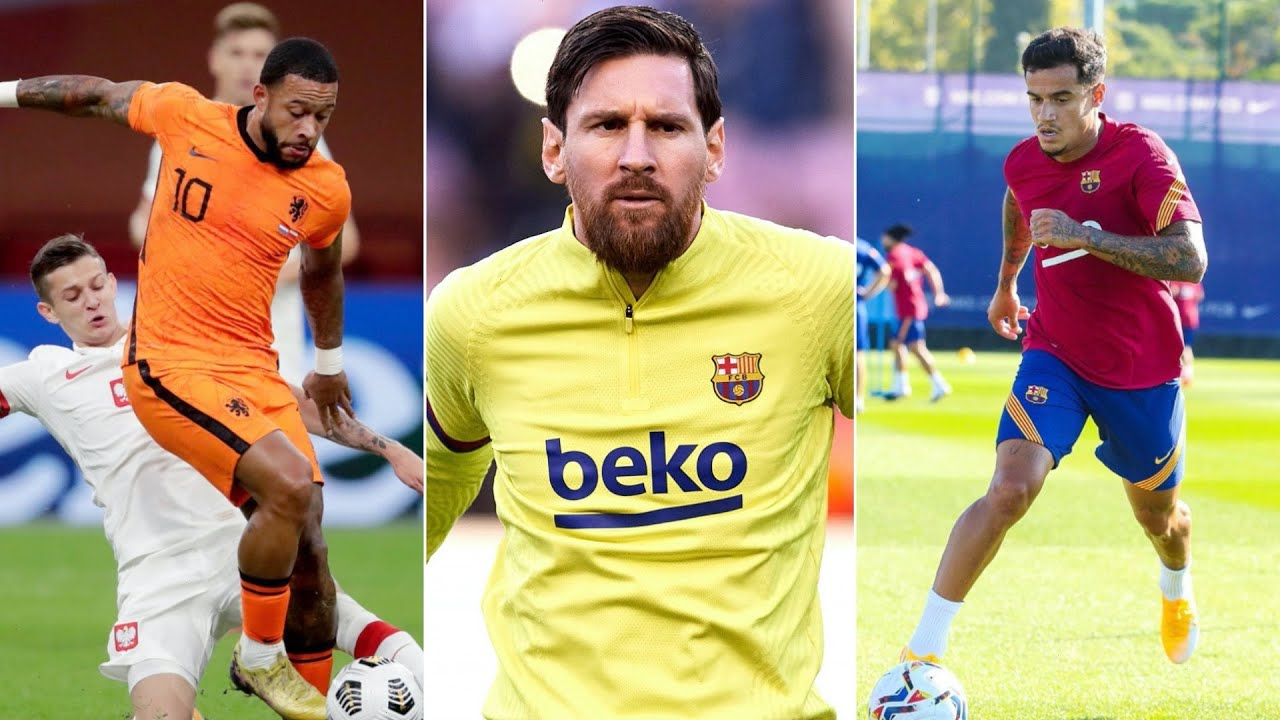 Lionel Messi set to RETURN to training? Philippe Coutinho is back! Memphis Depay to Barcelona?