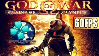 GOD OF WAR: CHAINS OF OLYMPUS (PPSSPP) | I7 4790K + GTX 1070 | 60FPS + LINKS