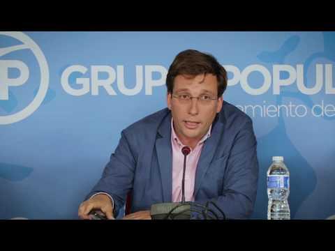 El PP cree que es triste e indigna la imagen de Carmena con los secesionistas catalanes
