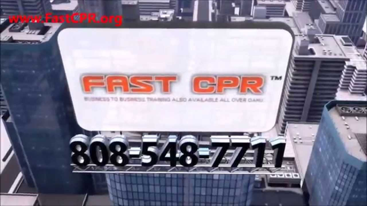 Cpr Courses Training In Hawaii Onsite Classes On Oahu Honolulu