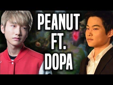 Peanut Goes For Rank 1 ft Dopa! - SKT T1 Peanut SoloQ Playing Lee Sin Jungle!   SKT T1 Replays