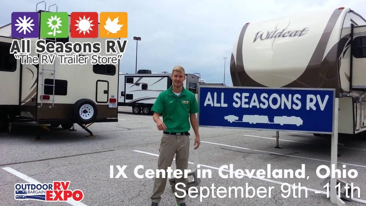 Ohio RV Show Cleveland RV Bargain Expo At The IX Center YouTube - Ix center car show 2018