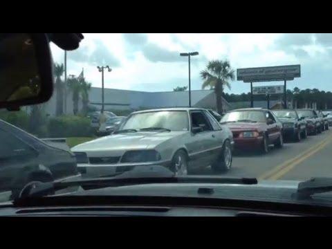 Mustang Week Foxbody Cruise