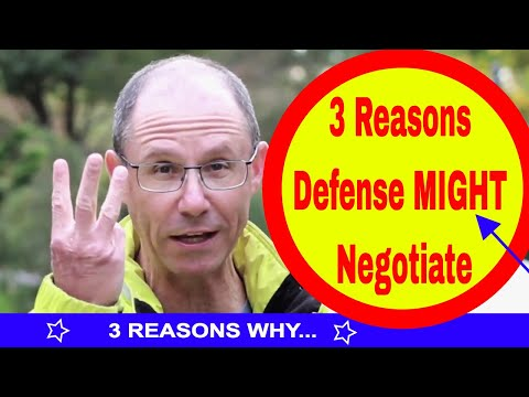 What Would Prompt Defense Attorney to Begin Negotiating With You in Your Medical Malpractice Case?