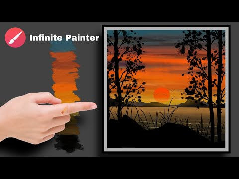 Digital art for beginners | Digital art tutorial | Android phone | infinite Painter | ibispaintx