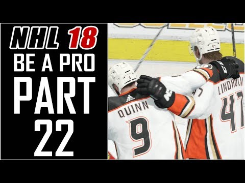 """NHL 18 - Be A Pro Career - Let's Play - Part 22 - """"Quarter Finals Games 3-5"""""""