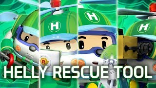 Helly's Best rescue tool | Robocar POLI Special clips