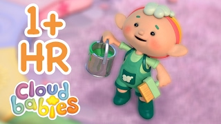Cloudbabies - Painting the Door | 60+ minutes | One Hour of Bedtime Stories for Kids