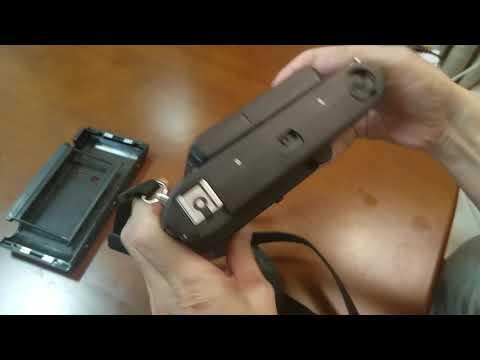 How to load 35mm film into Lomo Belair medium format camera