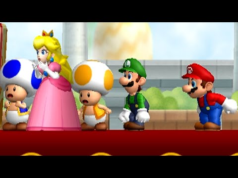 New Super Mario Bros. Wii Part 1 - World 1 (100%)