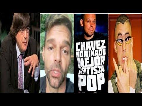Jaime Bayly DESENMASCARA René Residente, Ricky Martin Sobre Ricardo Rosselló Un Chat PRIVADO