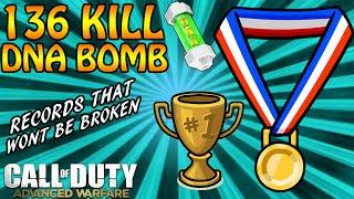 World Records That Will Never Be Broken 136 Kills and DNA Bomb (COD: Advanced Warfare)