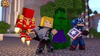 Minecraft: OS VINGADORES (Homem De Ferro, Hulk, Thor) SEM MODS