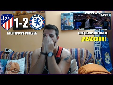 ATLETICO MADRID VS CHELSEA 1-2 | REACCION | UEFA CHAMPIONS LEAGUE | HIGHLIGHTS