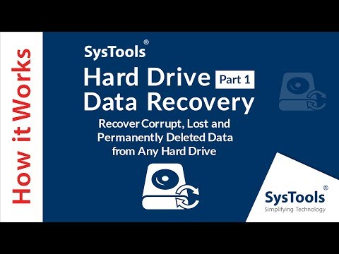 Recover Deleted Data from Hard Drive Via SysTools HDD File Recovery Software from YouTube · Duration:  5 minutes 23 seconds