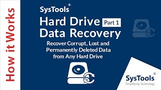 Recover Deleted Data from Hard Drive Via SysTools HDD File Recovery Software