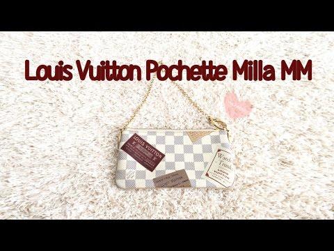 709366159fb9 Louis Vuitton Pochette Milla MM Review