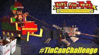 The #TinCanChallenge | Let's Play For Toys! | 🎅 🏈 🚲 🚂 🎁 💝