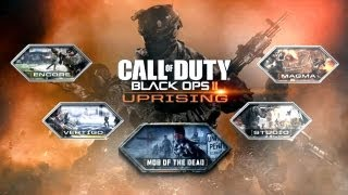 Uprising DLC - Call of Duty: Black Ops 2 - Nuevo pack  de mapas + zombis