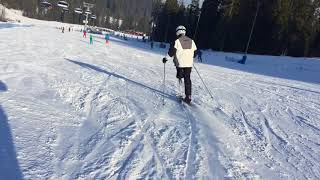Skiing on the knee prosthesis part_3