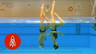 Pau Ribes wanted to be a synchronized swimmer since he watched his ...
