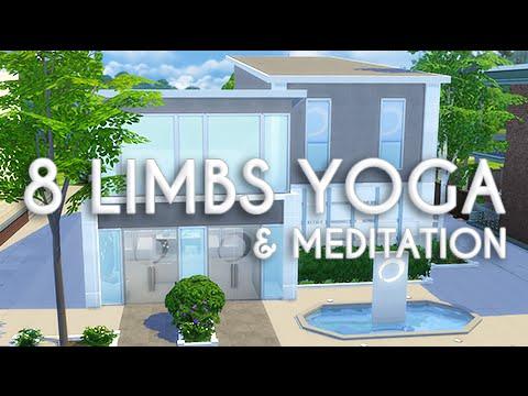 The Sims 4 : Speed Build | 8 Limbs Yoga & Meditation Studio!