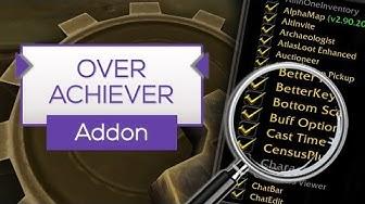 Overachiever | Erfolge schneller finden! - Addon Tipp [WoW]