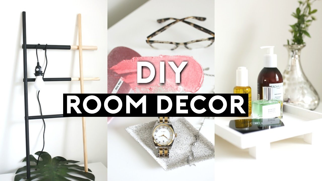Diy tumblr room decor ideas for 2017 minimal for Diy room decorations youtube