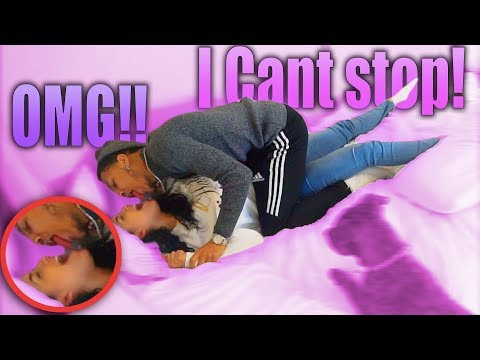 I Cant Stop KISSING You Prank On Girlfriend