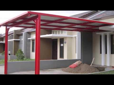 Model Kanopi Teras Depan Rumah Minimalis