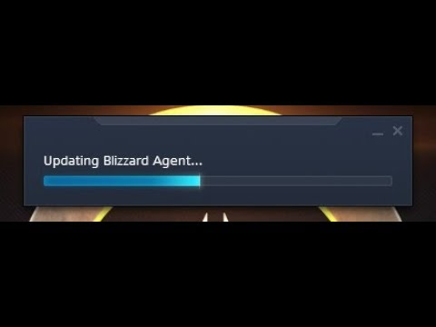 How to repair battle.net agent stuck