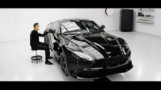 High End Detailing Aston Martin Vantage Gt8 Finest Signature Detail Youtube