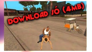 DOWNLOAD GTA SAN ANDREAS LITE · SUPER COMPACTADO (4MB) · TUTORIAL COMO BAIXAR E INSTALAR ·