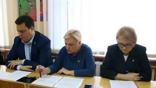 Аппаратное совещание в администрации города Горловка 30.10.2019