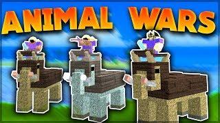 MAMMOTHS INVADE BOOGA BOOGA 'ANIMAL WARS' ( Roblox: Booga Booga