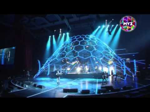 Tokio Hotel - Live In Moscow, MUZ-TV Awards 2011 [HD]