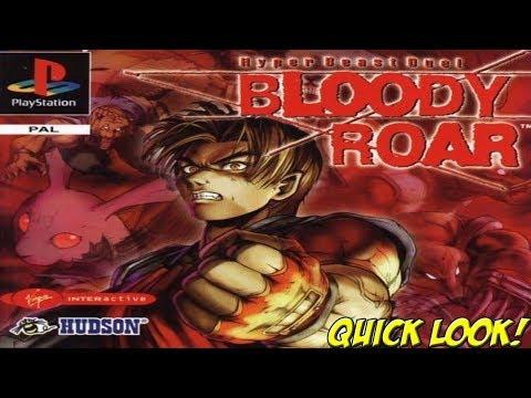 PSX 30th: Bloody Roar! Quick Look - YoVideogames