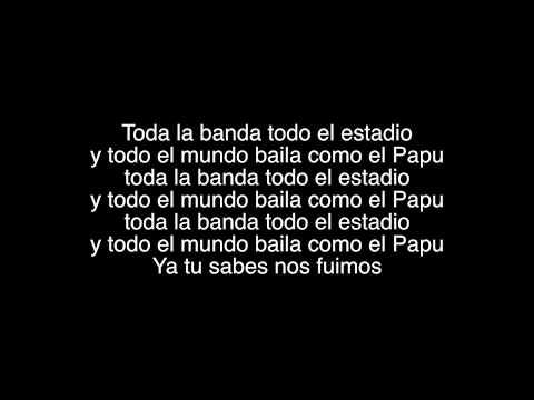 Baila Como El Papu | Gli Autogol feat. Papu Gomez | Testo-Lyrics