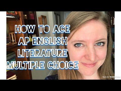 Ace the AP English Literature Exam: Multiple Choice