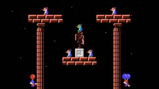 Board Fight (Balloon Fight hack) NES 2 player Netplay 60fps