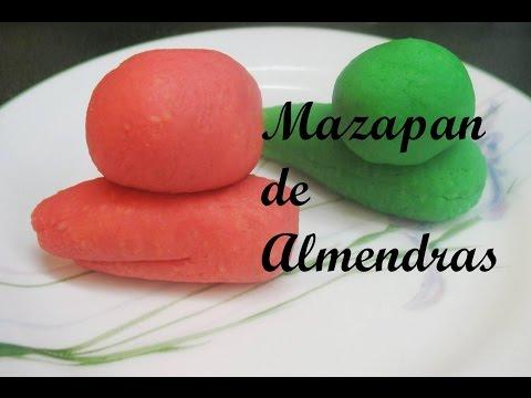 RECETA: MAZAPAN DE ALMENDRAS (Receta sencilla y rica!)