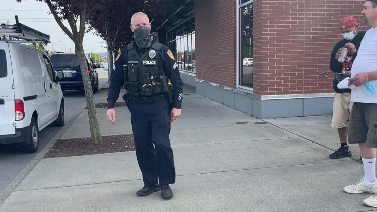 Citizen Admits Cops Are Racial Profiling Him!!