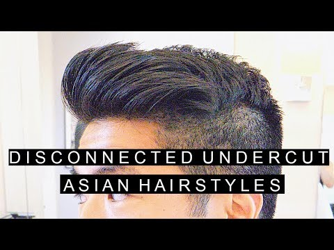 Disconnected Undercut | Popular Asian Hairstyles | Modern Hairstyles 2017