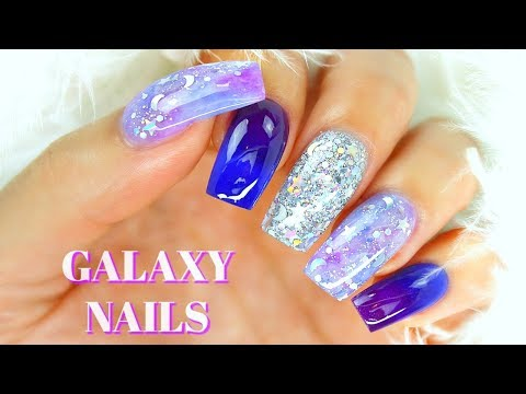 How to Do Galaxy Nails With Acrylic