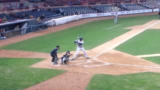 Yankee prospect Aaron Judge v Tiger Derek Hankins Brendan Harris Trenton Erie 4-10-15