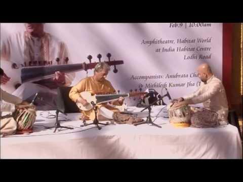 Sarod Virtuoso Amjad Ali Khan| Morning Raga | Raga Anand Bhairav | New Delhi | 9th February, 2014