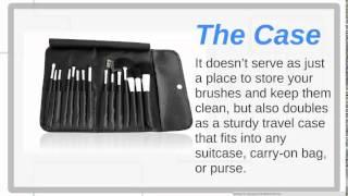 Dazzler Beauty Makeup Brush Set Open Box Video Thumbnail