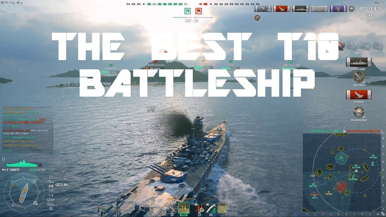 Recommend me a Battleship line - Gameplay - World of