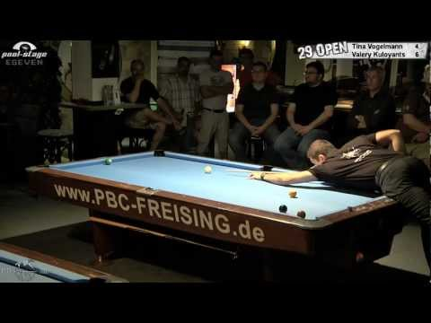 Twenty Nine 9-Ball Open 2012, 02 Vogelmann-Kuloyants, Pool-Billard