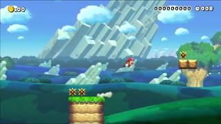 Super Mario Maker Short Level - Easy Speedrun